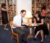 John & Francine Haskell Library, bibliothèque du FIAF