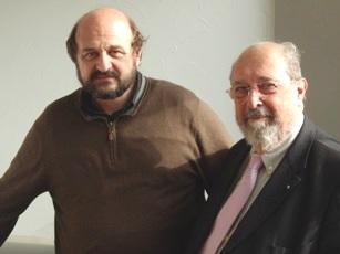 Hervé Le Treut et Michel Petit (de gauche à droite)