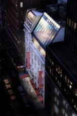 """l'immeuble """"Beaux Arts"""" vu de nuit"""