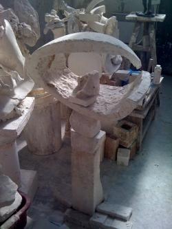 Stèle du sculpteur Gérard Lanvin