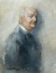 portrait de Curnonsky par Georges Villa