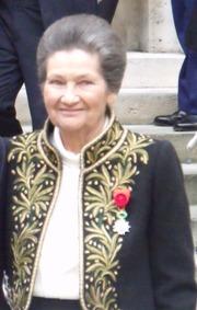 Simone Veil reçue sous la Coupole le 18 mars 2010