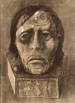 Odilon Redon  Après le supplice , 1877 Fusain, 45x32,5 cm, New York, Collection particulière, Courtesy Sayn-Wittgenstein Fine Art Inc.