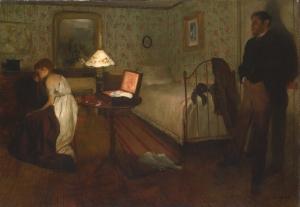 Edgar Degas  Le viol , 1868-1869 Huile sur toile, 81,3x114,3 cm Museum of Art Philadelphie