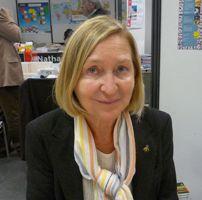 Florence Delay occupe le 10è fauteuil de l'Académie française depuis 2000.