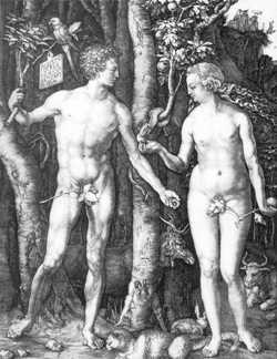 Albrech Dürer, Adam et Eve