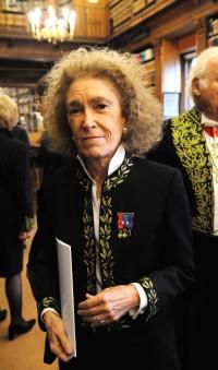 Mireille Delmas Marty, membre de l'Académie des sciences morales et politiques et professeur au Collège de France, Bibliothèque de l'Institut de France, 16 novembre 2009