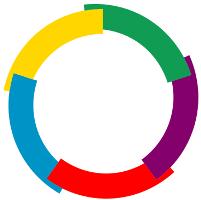 Drapeau de l'Organisation Internationale de la Francophonie