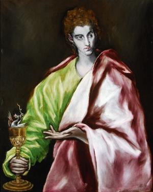 San Juan Evangelista, El Greco