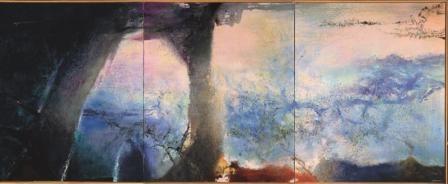 Hommage à Claude Monet, de Zao Wou-Ki