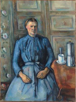 La Femme à la cafetière de Cézanne