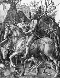 Albrech Dürer, Le Chevalier, la Mort et le Diable