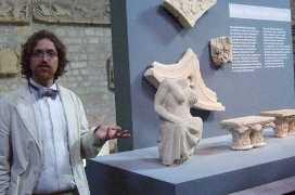 Xavier Dectot, commissaire de l'exposition