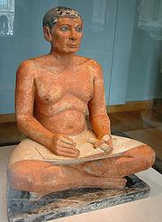 Le Scribe accroupi (Musée du Louvre)