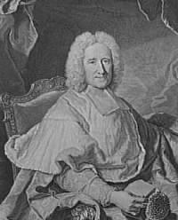 Le cardinal Guillaume Dubois (élu en 1722)