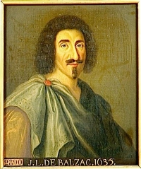 Jean-Louis Guez de Balzac (entré en 1634)