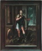 Portrait d'Henri IV en Hercule terrassant l'Hydre de Lerne.