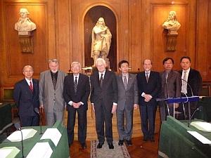 Remise du Prix de la Fondation culturelle franco-taïwanaise, 12 avril 2010, Académie des sciences morales et politiques