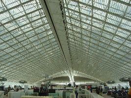 Un terminal de l'aéroport de Roissy