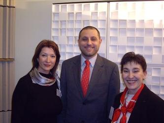 Elena Anghelescu, Ion Ciolacu et Teophana Bradinska-Anguelova