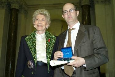 Hélène Carrère d'Encausse et Patrick Weil