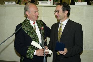 Alain Carpentier et Michel Haïssaguerre