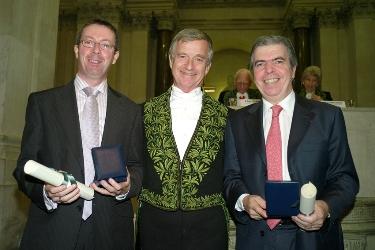 José Esteban, Yves Agid et Bruno Dubois