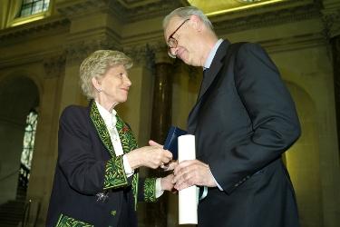 Hélène Carrère d'Encausse et Patrick Modiano