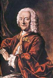 Georg Philipp Telemann (1681 - 1767) d'après une peinture disparue de Ludwig Michael Schneider (1750)
