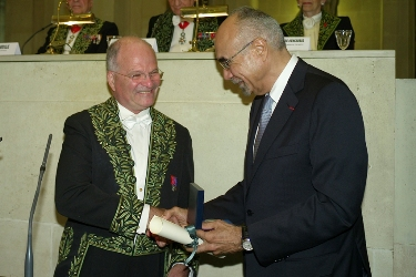 Alain-Jacques Valleron et John William Pape