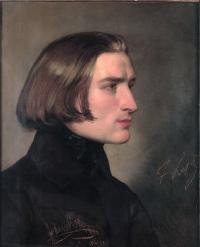 Friedrich von Amerling, Franz Liszt