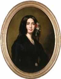 Auguste Charpentier, George Sand (1838)