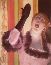La Chanteuse au gant d'Edgar Degas chantait-elle faux?