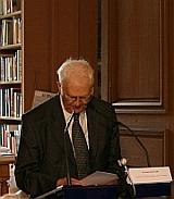 Jean Mesnard, membre de l'Académie des sciences morales et politiques, 8 juin 2010, Bibliothèque de l'Institut de France