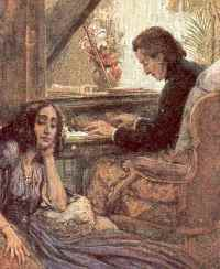 George Sand écoutant Chopin