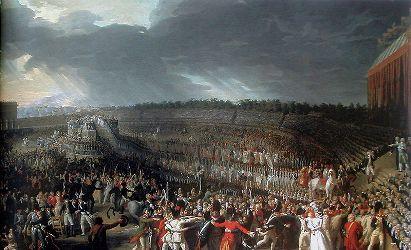 La Fête de la Fédération (par Charles Thévenin, 1764-1836)