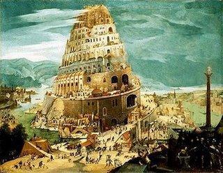 La Tour de Babel, symbole de la division linguistique des hommes