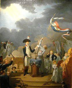 Le Serment de La Fayette (école française)