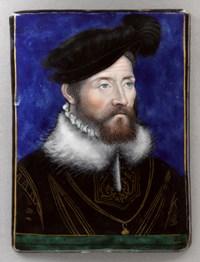Léonard Limosin (actif entre 1533 et 1577) Antoine de Bourbon, roi de Navarre (1518-1562), père du roi Henri IV