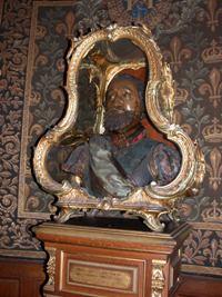 Buste du roi Henri IV par Guillaume Dupré
