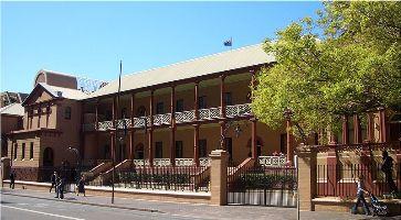 Le Parlement de Nouvelle-Galles du Sud, le plus ancien bâtiment public de Sydney