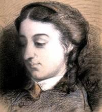 Portrait de Solange, la fille de George Sand