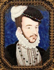 Portrait d'Henri III vers 1575 attribué à Bernard Limosin