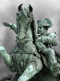 Statue équestre de Napoléon à Cherbourg