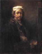 Rembrandt, autoportrait de 1660