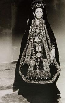 Maria Callas dans Médée de Pier Paolo Pasolini