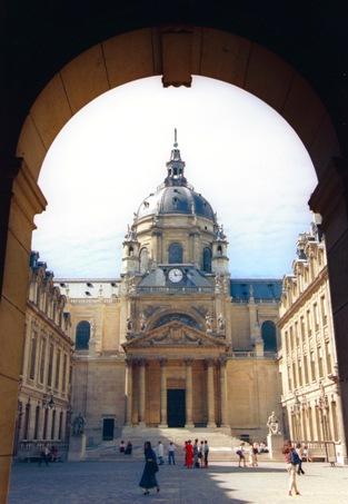 La cour de la Sorbonne (Cliché Service Culturel - Paris 4)