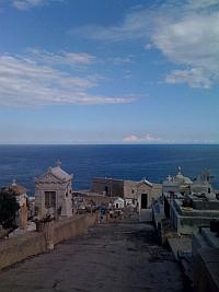 Vue du Cimetière Marin de Sète