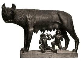 La Louve du Capitole (Rome)