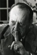 André Malraux en 1974, à Verrières-le-Buisson.